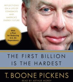 The-First-Billion-Is-the-Hardest-T-Boone-Pickens-abridged-compact-discs-Random-House-Audiobooks